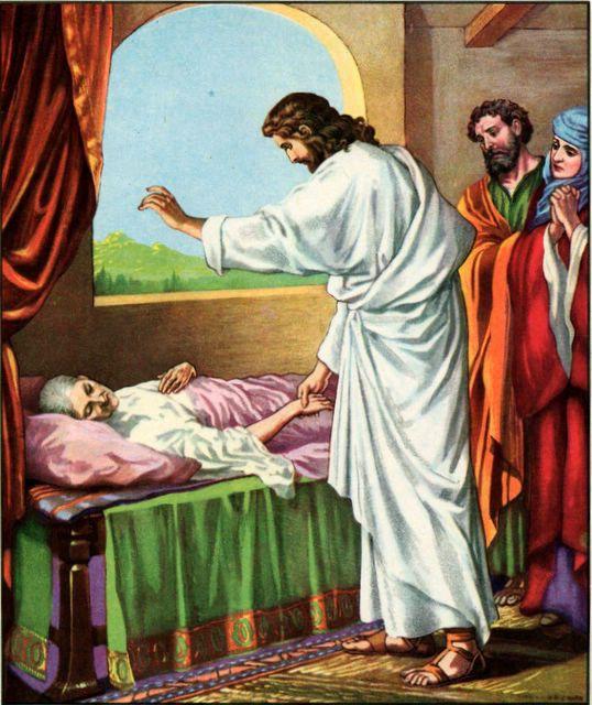 Jesus Heals Peter S Mother In Law