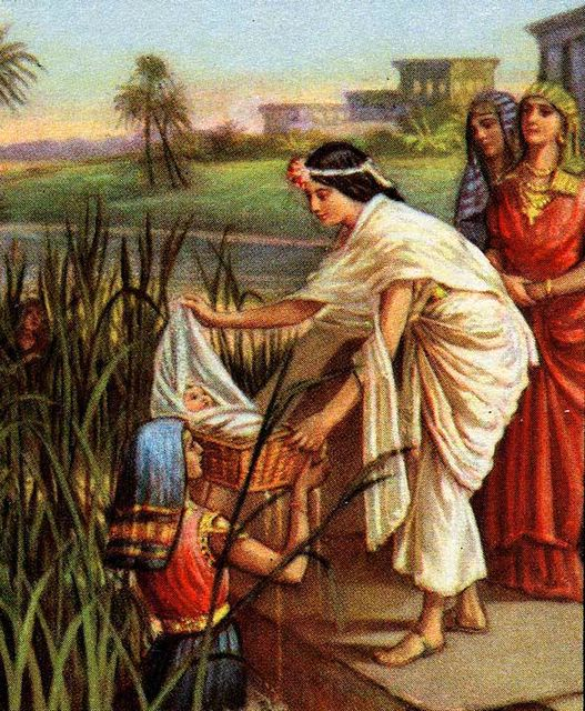 Image Result For Baby Moses In