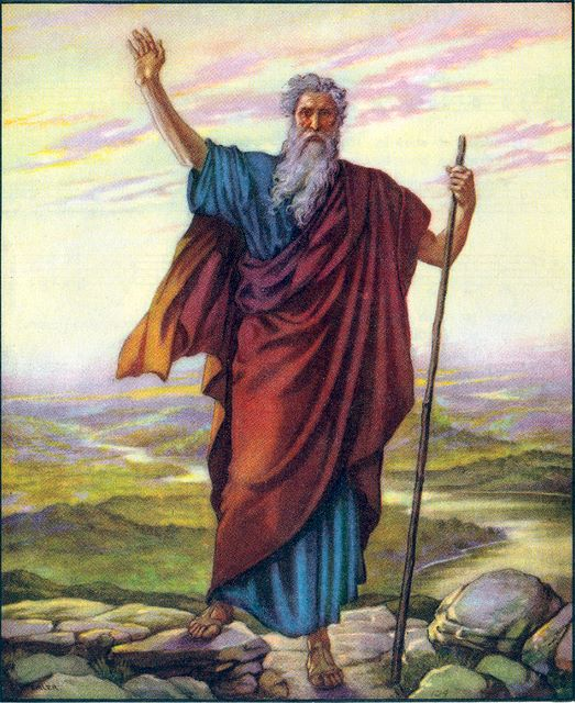 the leadership of moses as compared to noah and abraham