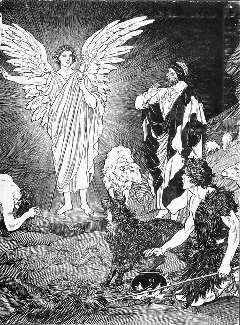 Angel Announcing the Birth of Jesus – Angels Announce the Birth of Jesus