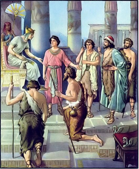 Joseph Egypt Bible Bible Story Joseph in Egypt