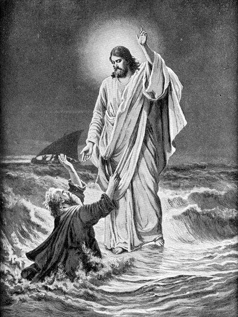 coloring page jesus walks on water gallery