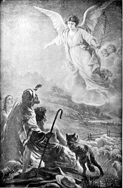 Angels Appear to Shepherds Announcing the Saviors Birth – Angels Announce the Birth of Jesus